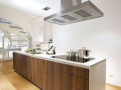 Descarga el catálogo y solicita al fabricante Bulthaup los precios de cocina integral con isla B3 | cocina de madera, colección B3