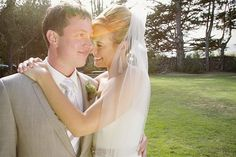 Bride and groom in love #wedding (Images by Melissa Fuller Photography)
