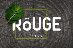 Rouge Sans by Factory738 on @creativemarket