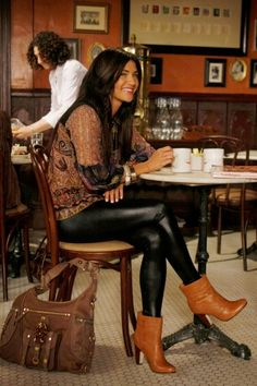 Check out Vanessa's downtown chic look here.
