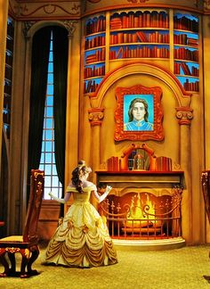 Disney World - Belle. My favorite princess!