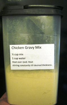 Find yourself buying those packets of gravy mix at the store?  They are handy for making gravy super fast on a busy night, but you should ne...