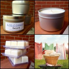 Gain'd - Natural Soy Candle - 8 oz Tin OR Wax Melts by AtoZCandles on Etsy https://www.etsy.com/listing/251912096/gaind-natural-soy-candle-8-oz-tin-or-wax