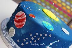 Weltraum Torte zum Kinder Geburtstag ...space cake for a Kids birthday