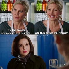 "Ingrid and Regina - 4 * 10 ""Shattered Sight"" Deleted Scene"