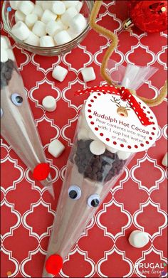 DIY Christmas Gift Ideas Rudolph Hot Cocoa from Frugal Coupon Living and 31 DIY Christmas Gift Ideas on Frugal Coupon Living.Rudolph Hot Cocoa from Frugal Coupon Living and 31 DIY Christmas Gift Ideas on Frugal Coupon Living. Christmas Gifts For Friends, Homemade Christmas Gifts, Kids Christmas, Homemade Gifts, Diy Gifts, Holiday Gifts, Christmas Crafts, Rudolph Christmas, White Christmas
