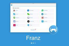 Franz ahora para Windows y Linux, en una misma app Whatsapp, Telegram, Facebook Messenger…