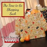 The Time to Go Shopping Sack (Go Fish)
