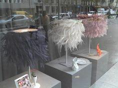 Feather Lamps, Paris