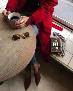 "5,619 Likes, 88 Comments - Aimee Song (@songofstyle) on Instagram: ""More coffee please 😴 #gentlemonsterxsongofstyle"""