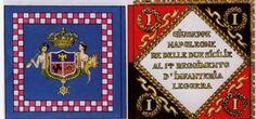 Bandiera di guerra di un rgt. di fanteria napoletana