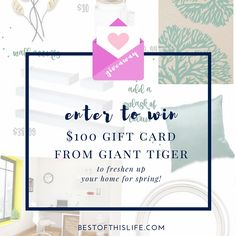 Enter to win $100 Gift Card from Giant Tiger - Giveaway ends May 2nd 2016 bestofthislife.com Word Out, Enter To Win, Hard To Find, Check It Out, Shout Out, Nifty, Giveaways, Karma, Trips