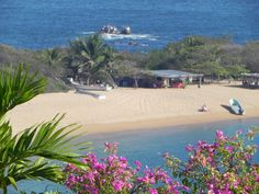 Ahhh. A view from the spa at Secrets Huatulco.