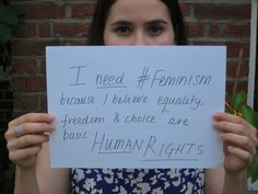 Tell us why YOU think FSU needs feminism on Facebook, Instagram, Twitter, and Tumblr with #FSUNeedsFeminism