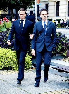 Harvey Specter and Mike Ross