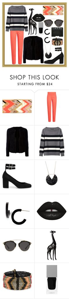 """Untitled #112"" by asena-cakmak on Polyvore featuring Rafe, MaxMara, Salvatore Santoro, Yves Saint Laurent, L. Erickson, Lime Crime, Christian Dior, Torre & Tagus, Panacea and Givenchy"