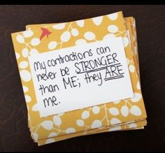 Ask guests to write birth affirmations - Celebrate Mom-to-Be with a Blessingway Instead of a Baby Shower - Photos