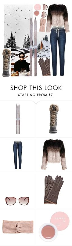 """""""Pack and Go:  Snow Bunny"""" by beetlescarab ❤ liked on Polyvore featuring Blondo, Flore, Kenneth Cole Reaction, GRANDOE, Korres, Packandgo and winterstyle"""