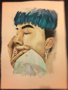 Portrait of Song Minho not looking like Mino 😢