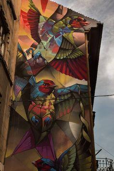 Street Art by BreakOne in Budapest, Hungary #streetart
