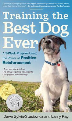 Free download. Dog training progress logs from the award-winning, five-week positive dog training program, 'Training the Best Dog Ever'