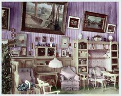 Mauve Room .. The Mauve Boudoir, Alexander Palace. http://www.pinterest.com/pin/360217670168395486/