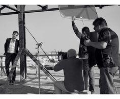 Making of Dior Homme Intense ad via DIOR MAGAZINE FRANCE