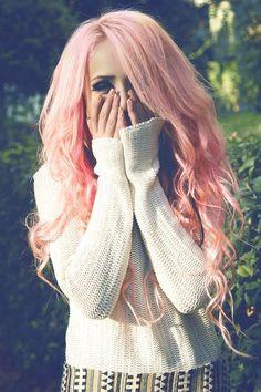 Beautiful-Peach-Blonde-Hair