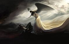 Angel of Mercy - 30 Mind-Blowing Examples of Angel Art  <3 <3
