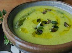 Sopa de Milho com Aspargo