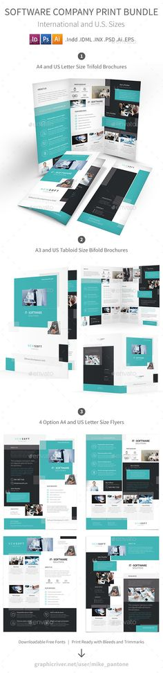 Solution and Software Brochure - Corporate Brochures Brochures - software brochure