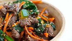Bowl of yumminess!  Korean Beef Rice Bowl