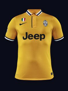 Juventus Away Kit 2013 - 2014 New Football Shirts, Football Kits, Soccer Jerseys, World Football, European Football, T Shirts, Rugby, Polo Ralph Lauren, Fantasy