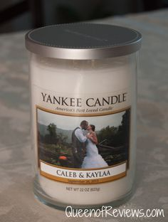 New Personalized Candles from Yankee Candle