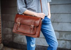 Inspired by the classic 1940s school bag, the Brooklyn is a vegetable-tanned leather camera bag that's designed to protect an SLR with an attached lens and up to 3 additional lenses or small accessories. A slit pocket along the back of the bag is perfect for securing your iPad or e-reader, while the front pocket is designed to hold a small wallet, lens caps and personal items. The Brooklyn is the ideal camera bag for weekend getaways, impromptu photo shoots with friends, and professional…