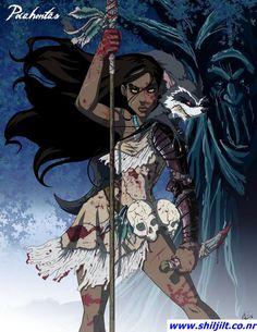 "Princesas ""demoníacas"" Disney - Pocahontas"