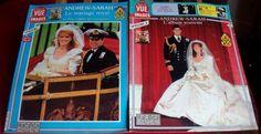 Lot de 2 revues POINT DE VUE - 1986 - ANGLETERRE - MARIAGE Andrew-SARAH - fr.picclick.com