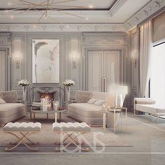 Lounge design • Private Palace • Abu Dhabi •