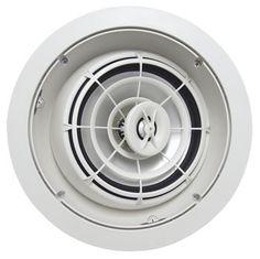 SpeakerCraft AIM8 Three High Fidelity Pivoting In-Ceiling Speaker - Each (White)