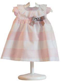 Vestido Franjas Rochy - demelocoton.com                                                                                                                                                                                 Más