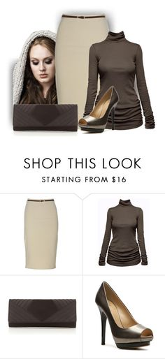 """Simple Look"" by malathik ❤ liked on Polyvore featuring C&C California, Debut and Giuseppe Zanotti"