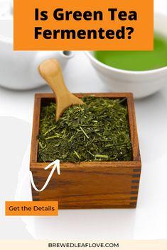 Green Tea Drinks, Green Teas, Green Tea Ice Cream, Green Tea Recipes, Types Of Tea, Drinking Tea, Matcha, How To Dry Basil, Brewing