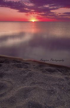 sunset by Xavist on the colorful way, via Flickr