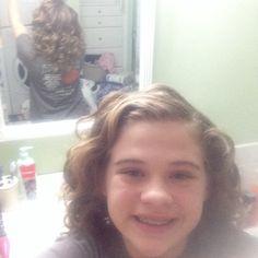 My curls!!! #selfie