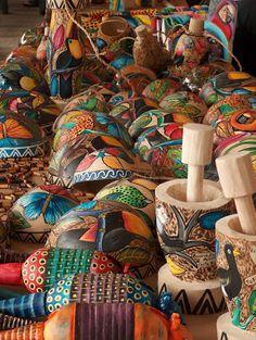 Artesanía indígena costarricense