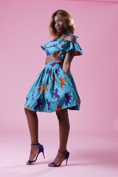 The Home Of African Fashion African Dress, African Fashion, Bleach, Elastic Waist, Overalls, Wax, Two Piece Skirt Set, Iron, Cold