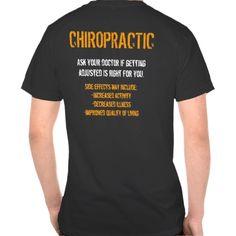 Chiropractic T Shirt