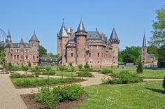 Haarzuilens (Utrecht) - Kasteel De Haar (Castle De Haar / Schloss De Haar / Château de l'Haar)