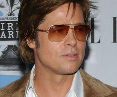 brad pitt wearing sunglasses | Brad Pitt Sunglasses