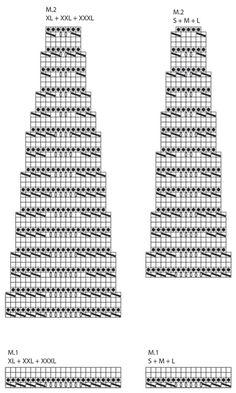 """DROPS 127-40 - Saco DROPS, de punto, con patrón de grecas y pechera redonda en """"Muskat"""". Talla: S – XXXL. - Free pattern by DROPS Design"""